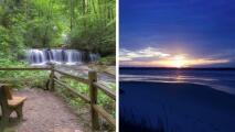 """5 atracciones consideradas """"joyas ocultas"""" en Carolina del Norte"""