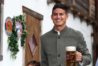 La pintoresca celebración del Bayern Múnich del Oktoberfest