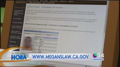 ¿Cómo usar la Ley Megan para saber si hay depredadores sexuales cerca?