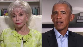 Barack Obama explica a Isabel Allende en exclusiva para Univision lo difícil que fue gestionar el tema migratorio