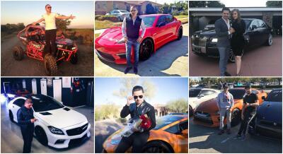 Conoce la colección de autos de Larry Hernández