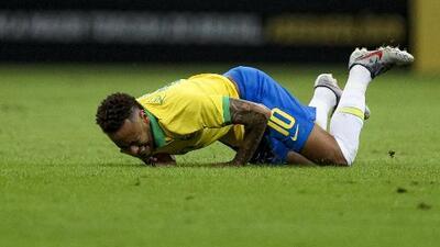 Estas son las lesiones que ha sufrido Neymar desde el 2014