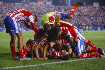 En fotos: ¡Atlético San Luis es de primera! Dorados de Diego Maradona con las manos vacías
