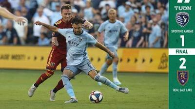 El chileno Felipe Gutiérrez falló un penalti y Sporting KC cayó en casa con Real Salt Lake