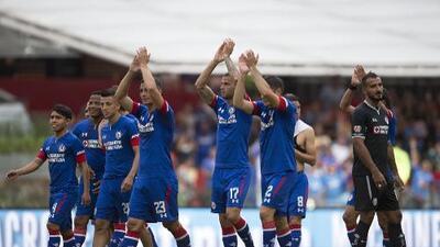 ¡Máquina a toda marcha! Cruz Azul lidera el Apertura 2018 tras la Jornada 1