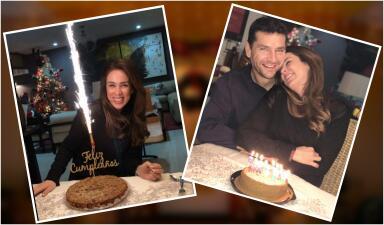 Cumpleaños antes de Navidad: Jackie Bracamontes celebró en familia un año intenso