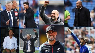 Los directores técnicos de la Champions League 2019-2020