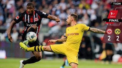 Kamada frena al Borussia Dortmund