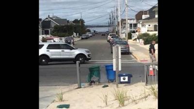 FBI busca a los responsables de la explosión de un artefacto en la ruta de una carrera benéfica en Nueva Jersey