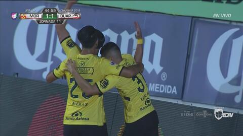 Monarcas vs. Lobos BUAP: revive los goles del primer tiempo