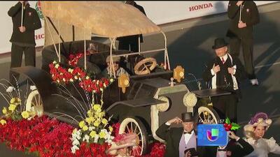Ya está todo listo para el Desfile de las Rosas 2015