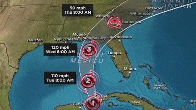 El huracán Michael se intensifica y avanza hacia Florida