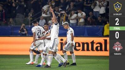 El León despertó: Zlatan firmó un doblete en triunfo de Galaxy y se mantiene al acecho de Carlos Vela