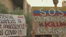 Residentes de Arizona mostraron su solidaridad con Colombia por la crisis de violencia
