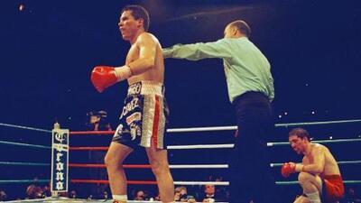 Julio César Chávez recordó su triunfo sobre Greg Haugen