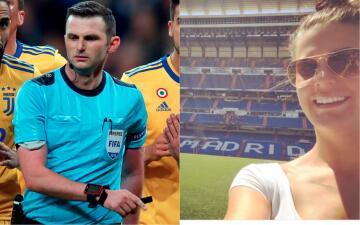 El incómodo amor de la mujer del árbitro de Real Madrid-Juventus por el Santiago Bernabéu