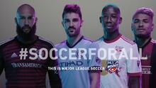 """La MLS lanza nueva campaña anual en contra la discriminación """"Soccer For All"""""""