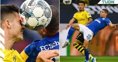 Schalke 04 y Dortmund empatan en la J9 de la Bundesliga