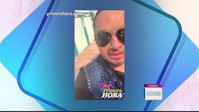 Ingresan a Manny Manuel a un hospital en España