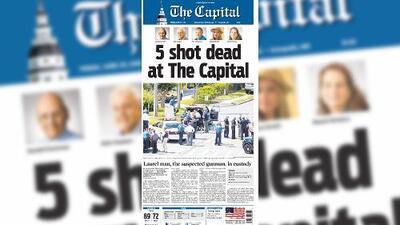 The Capital Gazzette, el periódico que no se rindió tras ser atacado