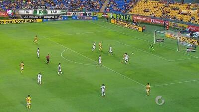 ¡Otra vez! Segunda ocasión desperdiciada para Tigres en el segundo tiempo