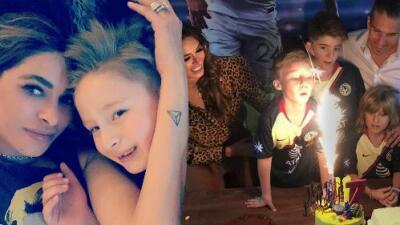 Galilea Montijo le dedica un emotivo mensaje de cumpleaños a su hijo y lo celebra con una divertida fiesta