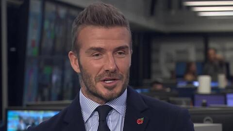 ¿Qué clase de técnico le gustaría para dirigir al Inter Miami? David Beckham contesta