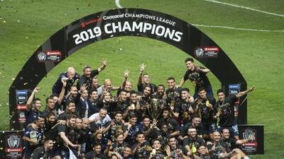 Así se vivieron los festejos de Rayados tras proclamarse Campeones de la Concacaf