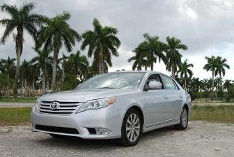 Test drive Toyota Avalon Limited 2011