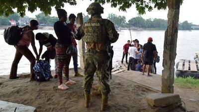 Autoridades mexicanas intensifican los operativos en Chiapas para contener el flujo de inmigrantes hacia EEUU