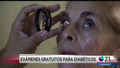 Exámenes gratuitos para personas con diabetes