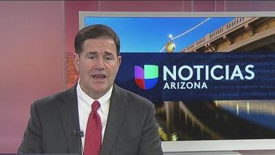 Gobernador de Arizona manda un mensaje a las víctimas de violencia doméstica