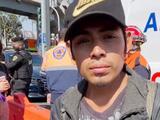 Su testimonio sobre el accidente en el Metro de México se hizo viral y ahora es buscado por supuestos familiares que lo daban por muerto