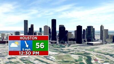 Tras una mañana fría, se espera un incremento en las temperaturas para este miércoles en Houston