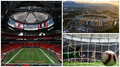 Son 44 ciudades para 80 partidos de un Mundial Estados Unidos-México-Canadá 2026