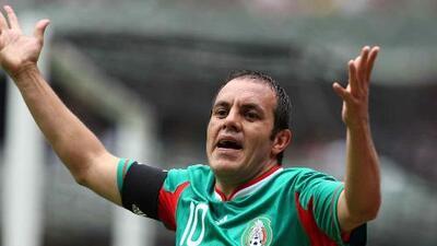 """Cuauhtémoc Blanco: """"Jugadores de Liga MX desaprovecharon oportunidad"""""""