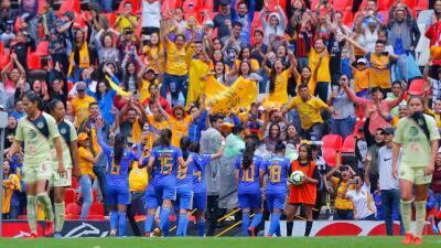 En fotos: Tigres da el golpe en el Azteca y elimina al América de la Liga MX Femenil