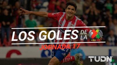 Revive los goles de la Jornada 17 del Apertura 2019