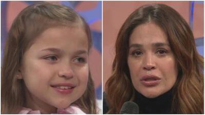 Karla Martínez lloró con la historia de una niña con discapacidad que se convirtió en reina de belleza