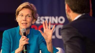 """""""Quiero proteger a los dreamers y a sus padres"""": Elizabeth Warren defiende a las familias de estatus mixto"""