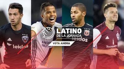 VOTA AHORA | ¿Quién es el Latino de la Jornada 8 de FutbolMLS.com?