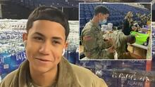 """""""Mi mamá estaba llorando"""": joven hispano de la Guardia Nacional se ofreció como voluntario para cuidar investidura"""