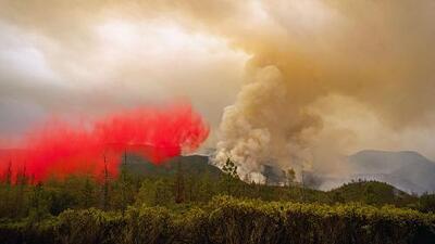 Incendio cerca de Yosemite obliga al cierre de varias partes del parque