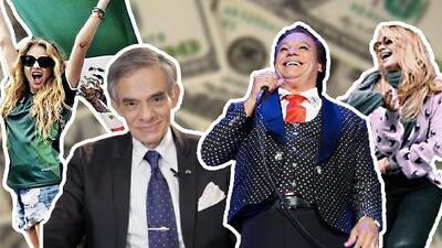 ¡Los cacharon! Dan a conocer lista de famosos que no le pagaron millones de pesos en impuestos al gobierno de México