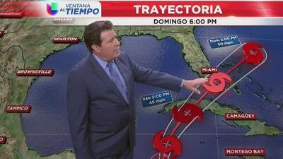 Alerta por tormenta en formación en el sur de Cuba
