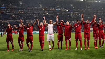Intenso pase del Bayern Múnich y un contundente Werder Bremen