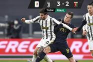 Juventus derrota al Genoa y va a Cuartos de la Coppa Italia