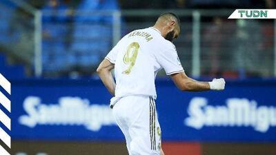Benzema supera a Puskas y se sitúa Pichichi