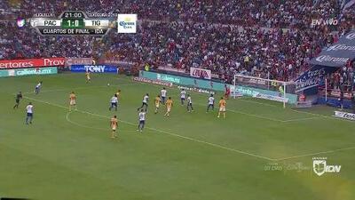 ¡GOOOL! Javier Aquino anota para Tigres