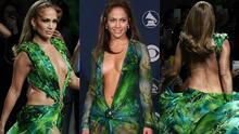 Solo JLo supera a JLo: por qué su 'jungle dress' es lo de menos